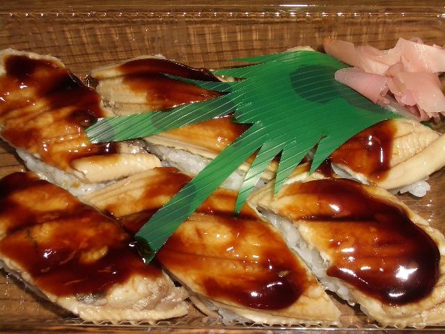あなご寿司 6個