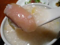 鶏肉・干し貝柱・冬野菜の粥