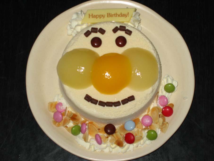 拓の誕生日手作りケーキ