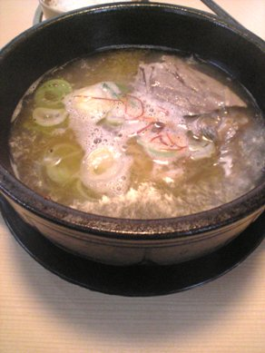 骨付きカルビスープ