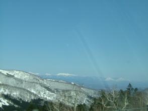 日勝峠からの雄大な景色