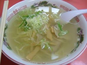 鳳蘭の塩ラーメン