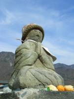 千曲川のお地蔵様