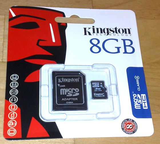 MicroSD8GB