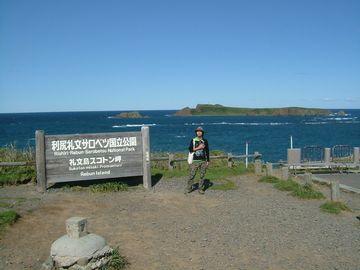 奥に見えるのは海馬島。船をチャーターすれば上陸も可能。