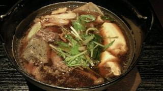 金の箸・すき焼き