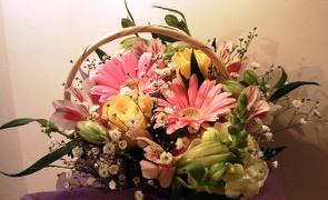 一周年記念お花★