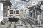 交換駅にて。