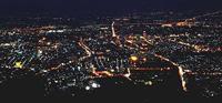 チェンマイの夜景