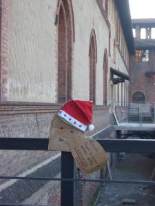 サンタもやってきたみたい。