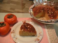 柿のケーキ2