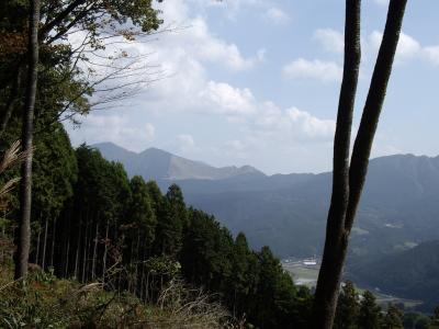 屏風岩から見る曽爾高原
