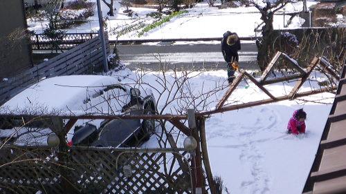 雪遊び116