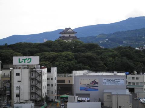 小田原城を望む44