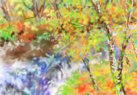 紅葉・絵画