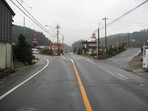 新田付近の旧中山道