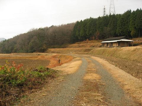 旧中山道・ぴやいと茶屋跡付近