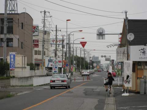 旧日光街道・杉戸