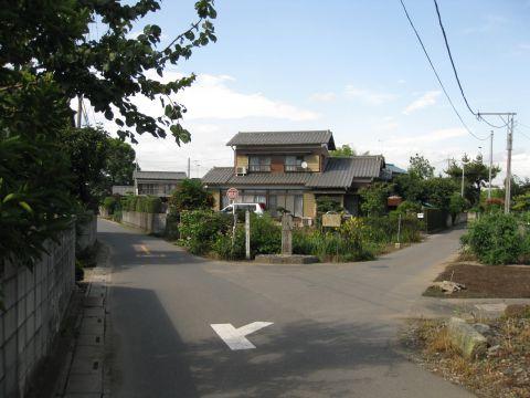 日光街道・筑波道追分