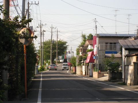 旧日光街道・粟餅屋跡