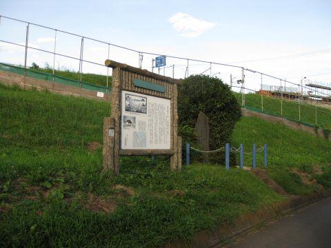 栗橋関所跡碑と案内板