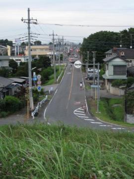 中田の町並み