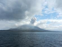 鹿児島_クルーズ桜島噴火05