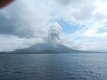 鹿児島_クルーズ桜島噴火08