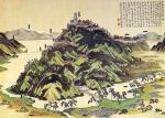 安土城古図(Wikiより)