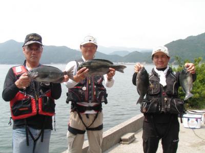 3名の釣果