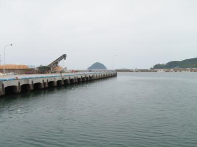 臼杵造船側のチヌ釣りポイント