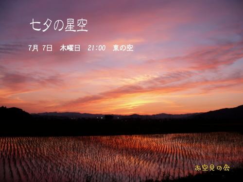 2011 7 7 七夕の星空