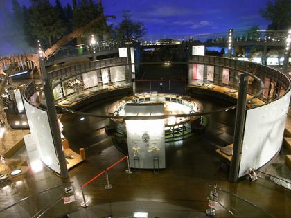 恐竜博物館 中央展示