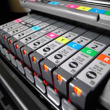 PIXUS Pro9500 インク01