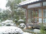 2007年3月18日京都雪景色その4