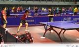 日本代表男子選手の練習映像(世界卓球2011)
