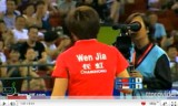 中国オープン2011 文佳VS馮天薇(女子)