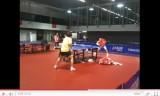 張継科の練習映像(世界卓球2011の練習会場)