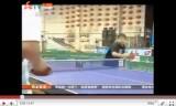 王皓(中国)の若い頃の多球練習映像
