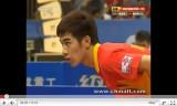 中国卓球 超級リーグ2011 閻安VS王励勤2