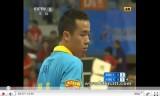中国卓球 超級リーグ2011 王皓VS尚坤1