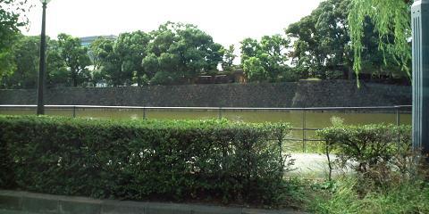 皇居のお堀2