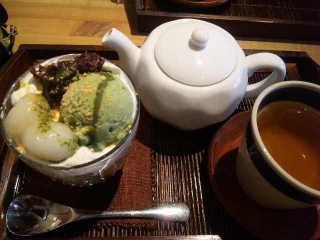 CA97PTC4抹茶パフェ