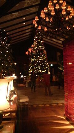 エクシブ蓼科クリスマスツリー