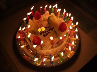 幻想的ケーキ