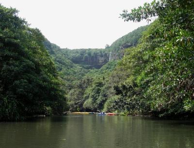 ヒナイ川カヌー