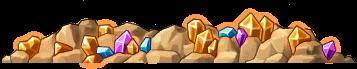 8200003 茶色光鉱山