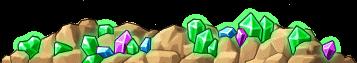 8200004 エメラルド色鉱山