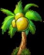 8412006 小さな椰子の木
