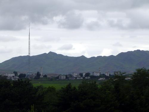 北朝鮮の風景